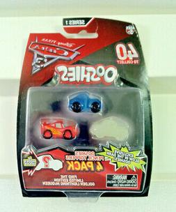 JAKKS OOSHIES Pencil Toppers.Disney Pixar CARS 3 Mini Figure