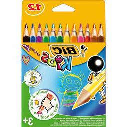 Bic Kids Evolution Triangle Colouring Pencils Assorted Colou