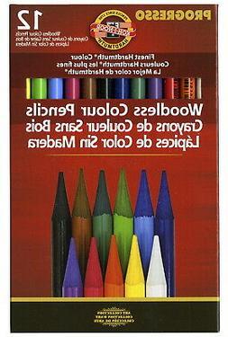 Koh-I-Noor Woodless Colored Pencil Set, Assorted Color, Set