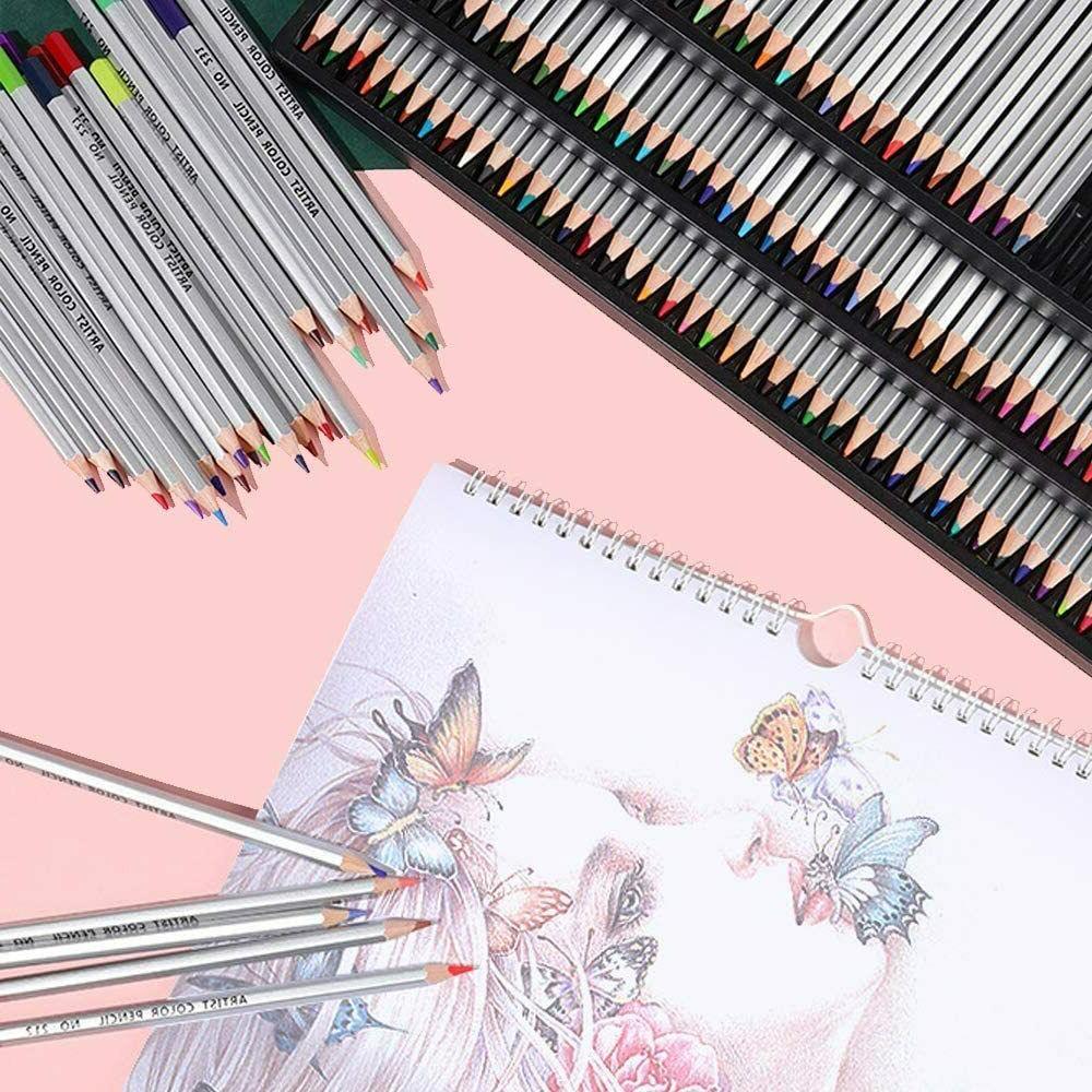 150 Pencils Set Professional Drawing