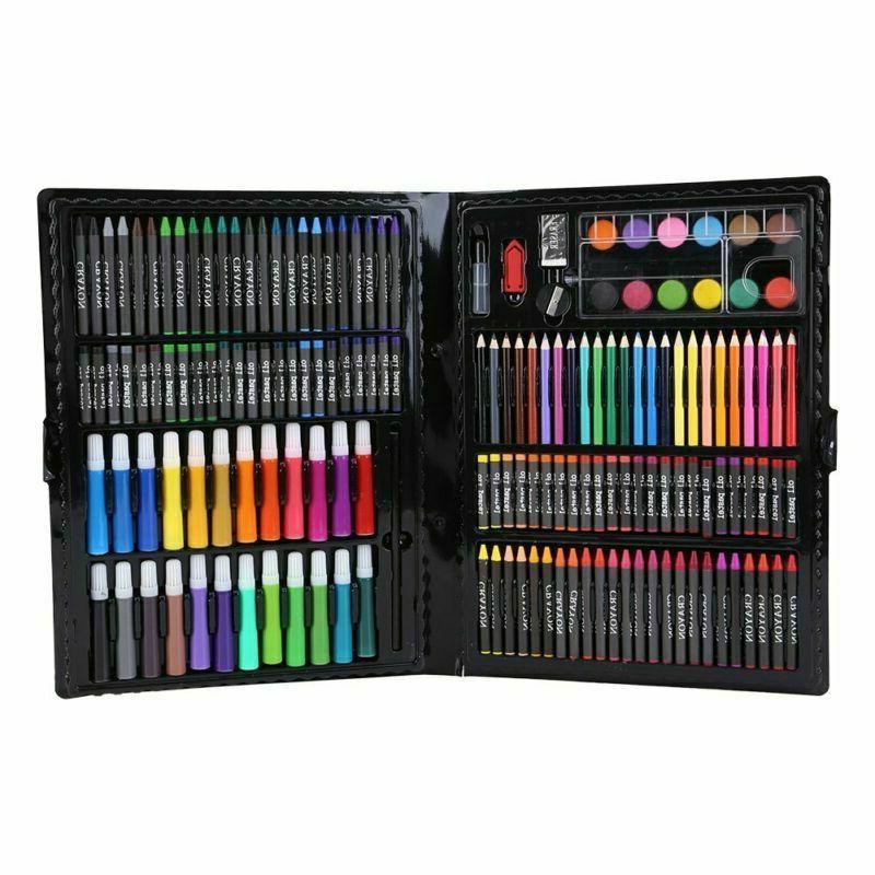 168Pcs Art Drawing Pencils Set Crayons Colored Pencils Marke