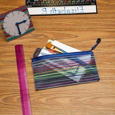 24-Pack Zipper Pouch for School Office Home
