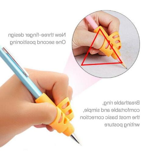 3 Pcs Pencil Pen Aid Grip Correction