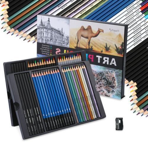 60pc Art Colored Set