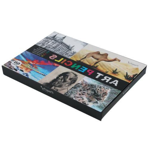 60pc Colored Professional Set