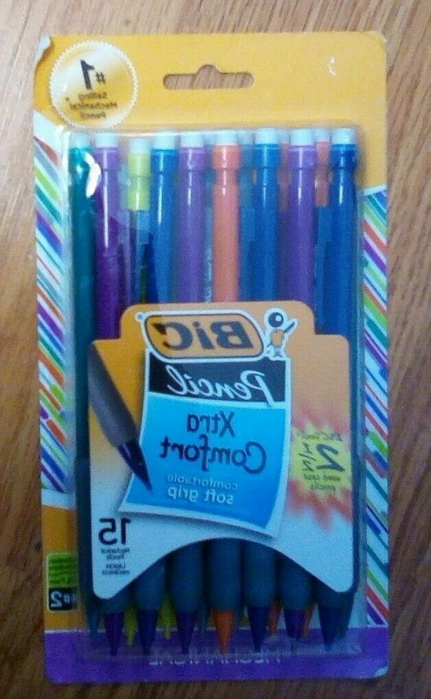 7mm 15ct mechanical 2 pencil assorted colors