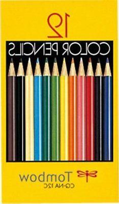 Tombow Color Pencils NQ Series 12 Colored Pencil Paper Case
