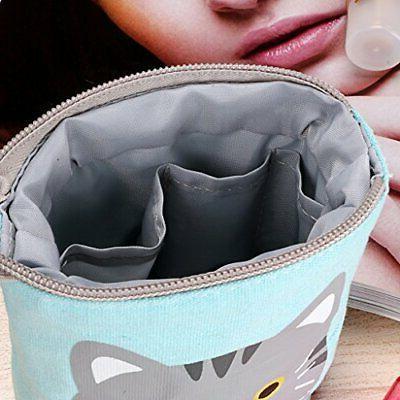 BTSKY Carton Pencil Case- Canvas Holder Organizer