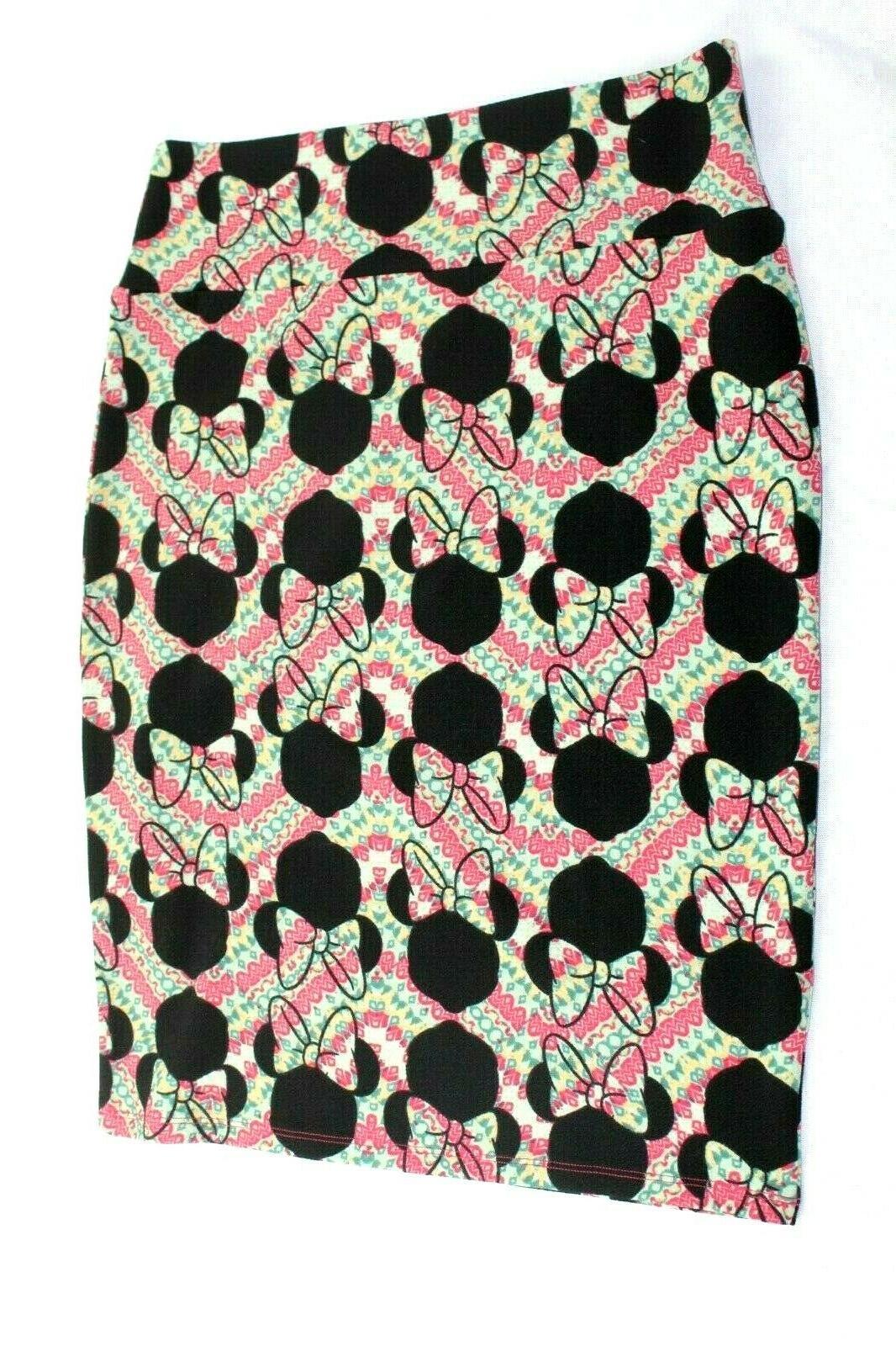LuLaRoe Mouse Retro Skirt Women's L