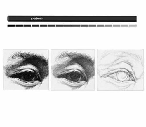 12 Pcs Set Art Artists Drawing Charcoal