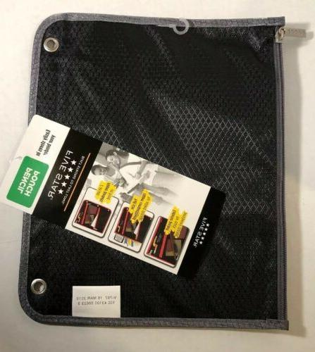 Mead Star Pen Pencil Zippered Compartment Pouch