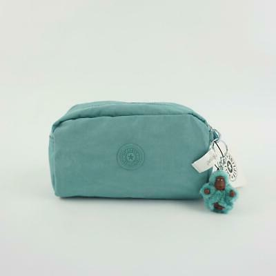 gleam pouch cosmetic pencil case aqua frost