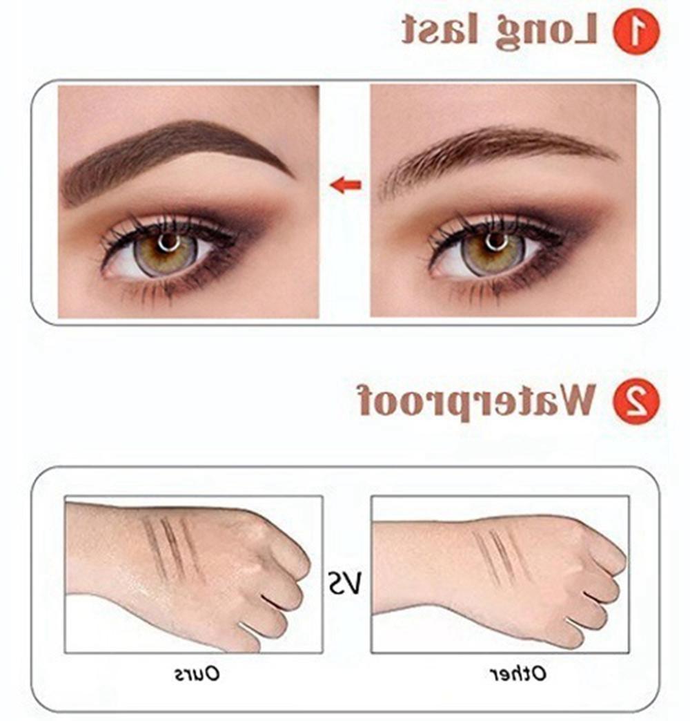 Microblading Fork 4 Tips Tattoo Long Eyebrow