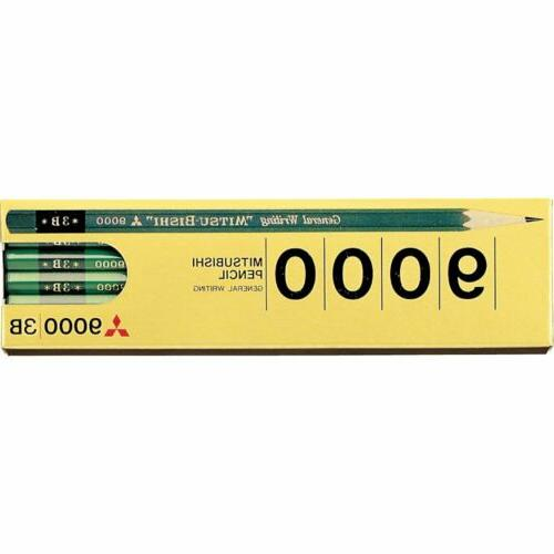 mitsubishi pencil pencil office pencil 9000 3b
