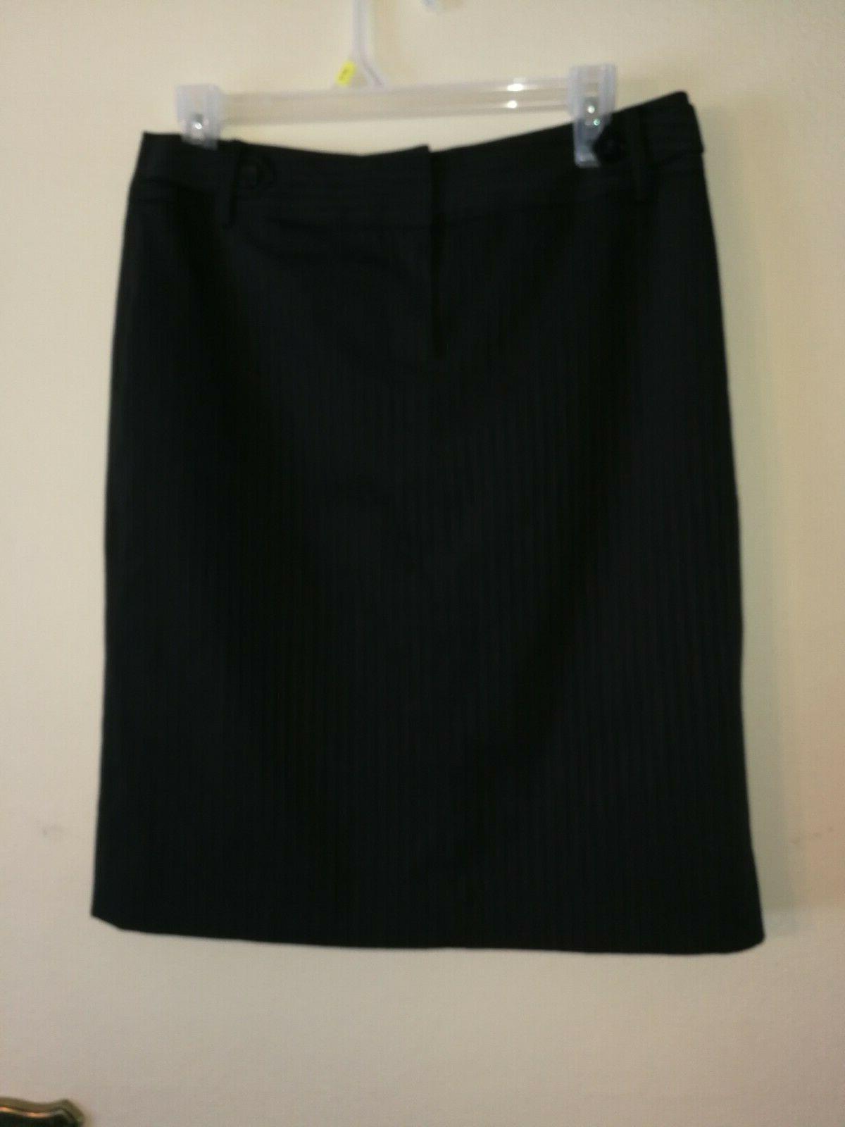 New Woman Amazing Banana Republic Black Pencil Skirt, Size 8