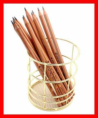 Pencil Holder Pen ROSE GOLD Organizer For Home Gold