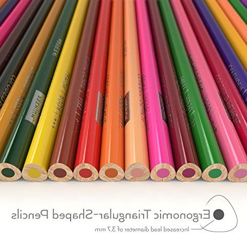 of Color Names, Triangular Pre sharpened, Cores, Ideal Drawing Art, & Coloring, Artist for
