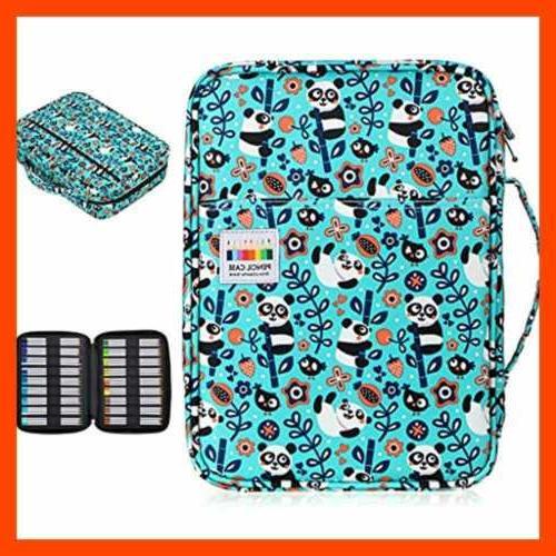 BTSKY Portable Pencil Case Holds 166 Pencils Pens L