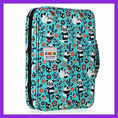 portable colored pencil case organizer holds 166