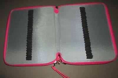 BTSKY~Portable Pink 120 Capacity Pencil