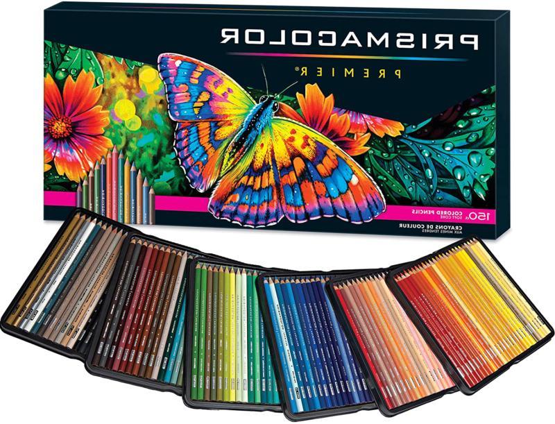 Prismacolor Premier Colored Pencils 150 Count, Soft Core, Bl