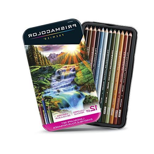 Prismacolor Premier Soft Core, Landscape 12 Count