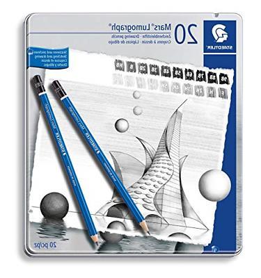 Premium Quality Sketch Wood Blue Pencil Black Cap Degree Ind