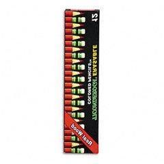 Presharpened Ticonderoga Colored Pencils,Thinex Eraser, Carm