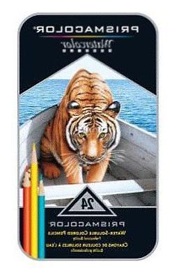 Prismacolor Watercolor Pencils 24/Pkg-