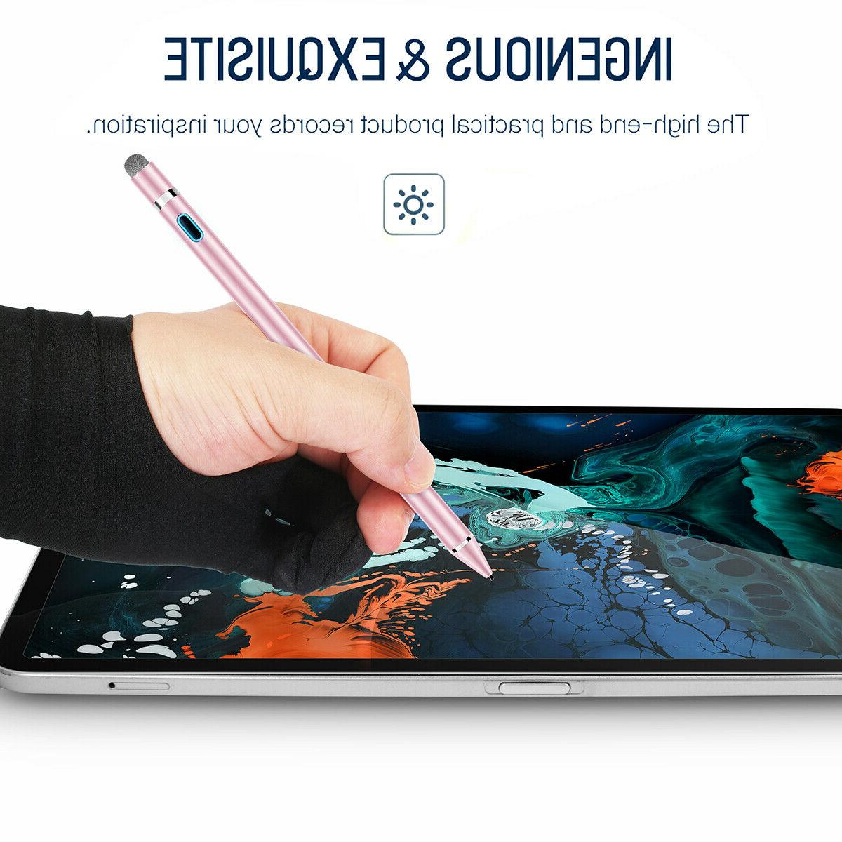 Sensitive Rechargeable Stylus Pencil For Tablet iPhone