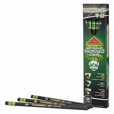 tri conderoga triangular pencils wood cased 2