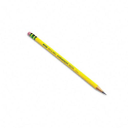 Dixon Ticonderoga Pencils, #2 HB, Yellow, Box of 12