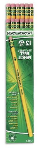 Ticonderoga Woodcase Pencil No 2 Yellow Barrels 96 Count