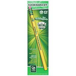 Ticonderoga Wood-Cased Laddie Pencils, 2 HB Soft, With Erase