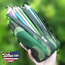 Large Camouflage Army Boys Pencil Case Stationery Pencil Pen