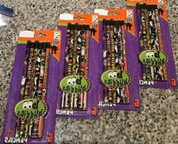 Lot of 24 Boo Buddies Geddes Pencils, 4 6 COUNT Packages, HA