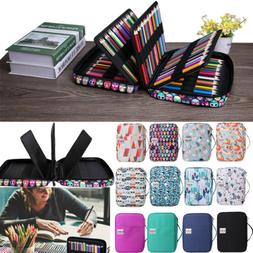 Max Holds 220Pencil Case Large Capacity Pencil Holder Sleeve