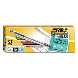 Mechanical Pencil, HB #2, 0.50 mm, Clear Barrel, Refillable,