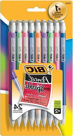 mechanical pencils bic sparkle mechanical pencil medium
