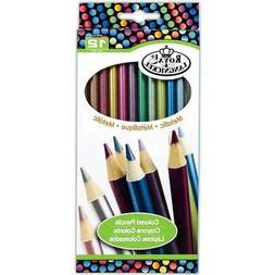 Metallic Colored Pencils-12/Pkg