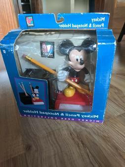 Disney Mickey Pencil & Notepad Holder