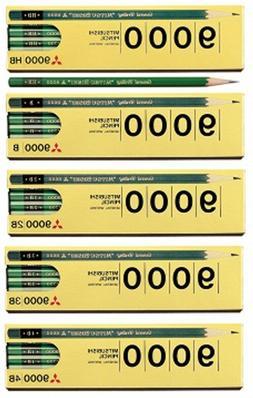 Mitsubishi Uni Wood Office pencil 9000 Japan 1 dozen 12 piec