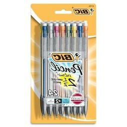 Bic MPLMFP241 Mechanical Pencil, w/Pocket Clip, .5mm, BICMPL
