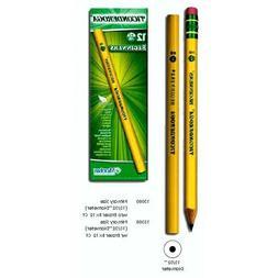 NEW 12 Dixon Ticonderoga Beginners Oversized No. 2 Pencils