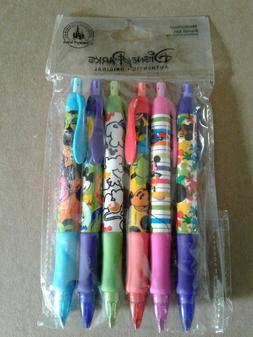 New Disney Parks Authentic Mechanical 6 piece Pencil Set- Mi