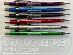 New Pentel Sharp P205 Metallic Color 0.5mm Mechanical Pencil