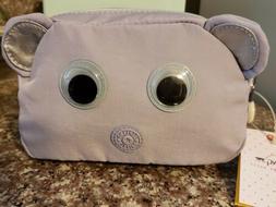 NWT Kipling Zesty Wisteria Purple -cosmetic case, pencil cas