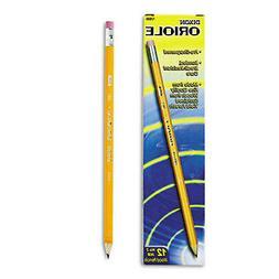 Dixon Oriole Woodcase Presharpened Pencil, HB #2, Yellow Bar