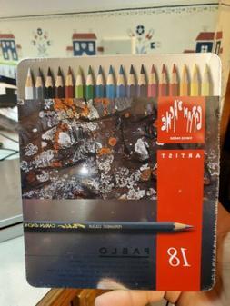 Caran D'ache Pablo Color Pencils Set Of 18
