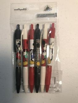 Disney Parks Pencil set Classic Mickey Mouse 6 Pack Mechanic